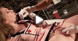 saddistic rubber glove nurses